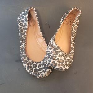 Lucky Brand Leopard Ballet Flats